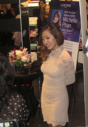 Michelle Phan in 2012 at a Sephora in Glendale, California