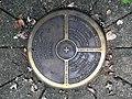 Michigan Meridian-Baseline State Park East Baseline Marker.jpg