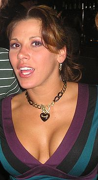 Mickie james in Belfast for the Raw Wrestlemania Revenge tour.jpg