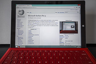 2-in-1 PC - Microsoft Surface Pro 3, a prominent 2-in-1 detachable
