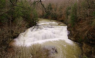 Falling Water River - Image: Middlefalls long exp tn 1