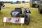 Military Vehicles motor bike and side car (2621130765).jpg