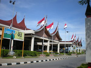 Minangkabau International Airport - Image: Minangkabau Airport