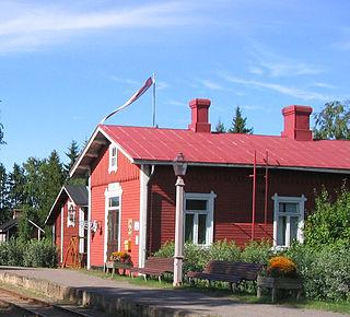 Minkiö railway station railway station in Finland