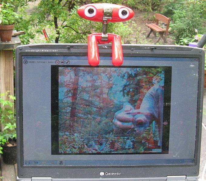 Webcam 3D Minoru