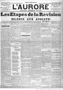 Mirbeau - Inquiétudes, paru dans L'Aurore, 19 septembre 1898.djvu