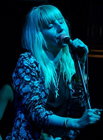 Mish Barber-Way - Barber-Way performing with White Lung in South by Southwest, 2013