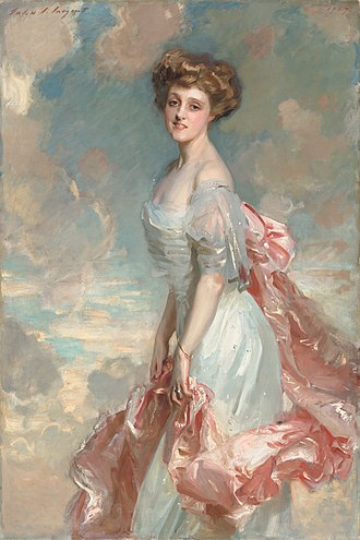 Peter G. Gerry - Portrait of Gerry's first wife, Mathilde Townsend, painted by John Singer Sargent, 1907