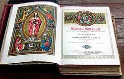Missale Romanum Pustet