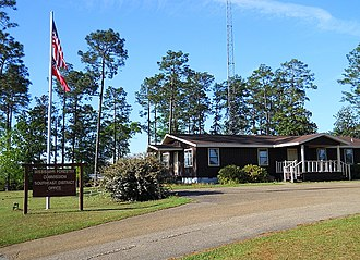Mississippi Forestry Commission - The MFC Southeast District Office in Wiggins, Mississippi