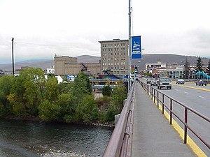Missoula Montana-Higgins Street Bridge-1999 09 27