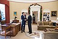 Mitt Romney and Barack Obama Oval Office meeting 2012-11-29.jpg