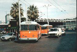 Trolejbusy Alfa Romeo w Neapolu w 1996 roku