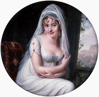 Juliette Récamier - Image: Mme Recamier by Augustin