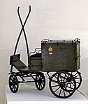 Model of postal carriage (PTT Museum in Belgrade).jpg