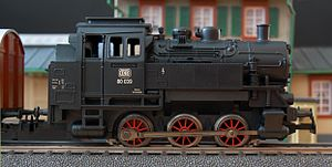simple Model train by Märklin