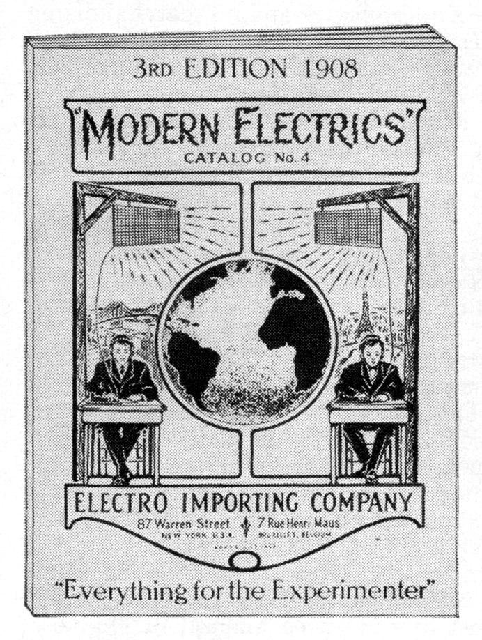 Modern Electrics Catalog 1908