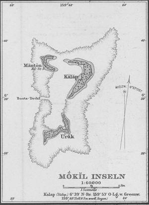 Mokil - Mokil Atoll, Pohnpei State, Micronesia, Pacific Ocean