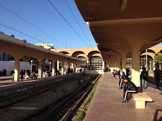 Sahel Metro - Monastir key middle station