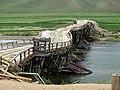 Mongolia 2011 - Jaargalant wooden bridge.jpg