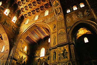 William II of Sicily - Monreale Cathedral, built during William's II reign. William and his parents are buried there.