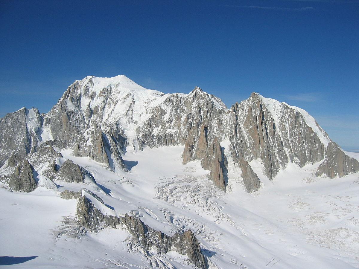 Monte bianco wikipedia - Immagini da colorare delle montagne ...
