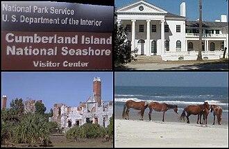 Cumberland Island - Image: Montage Cumberland Island GA