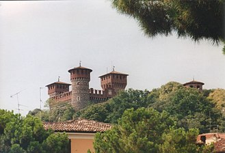 Montichiari - The Bonoris castle in Montichiari.