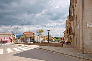 Montmajor - Market square, Montmajor