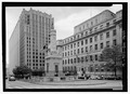 Monument Square, North Calvert Street between Fayette and Lexington Streets, Baltimore, Independent City, MD HABS MD-1126-6.tif