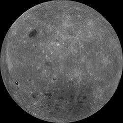 Essa � a imagem da outra face da lua, a que n�s n�o conseguimos ver.