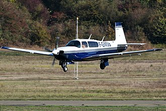 Mooney M20 - Mooney M20M with the Lycoming turbocharged engine