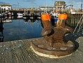 Mooring bollard, Portavogie Harbour - geograph.org.uk - 1500018.jpg