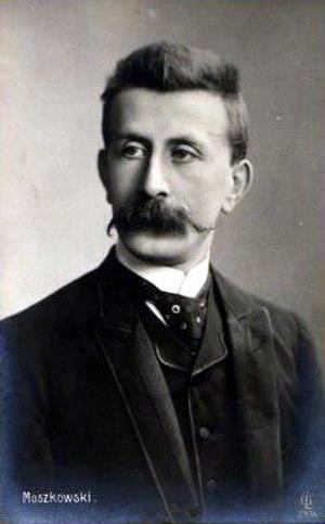 Moritz Moszkowski - Moritz Moszkowski, c. 1880