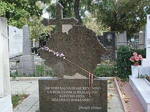 Gheorghe Ghimpu - Image: Mormântul lui Gheorghe Ghimpu
