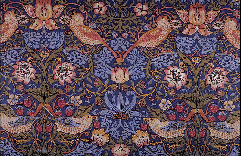 William Morris Textiles And Books Crasstalk