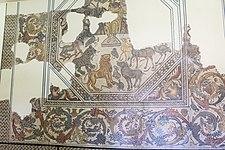 Mosaico Mito de Orfeo. Siglo IV d.C. Villa Pesquero. Pueblonuevo Guadiana. II.jpg