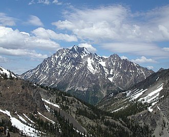 Wenatchee Mountains - Mount Stuart from the south