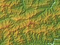 Mount Tsurugi Relief Map, SRTM-1.jpg