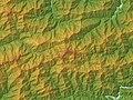 Mount Tsurugi Relief Map, SRTM-1.jpg
