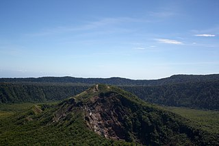 Karkar Island mountain
