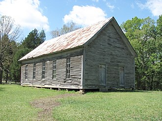 National Register of Historic Places listings in Henry County, Tennessee - Image: Mountzionbapchurchhc tn