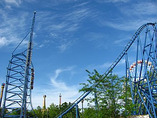 <i>Mr. Freeze</i> (roller coaster) Launched roller coasters at Six Flags parks