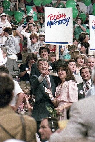 1983 Progressive Conservative leadership election - Image: Mulroney 1983