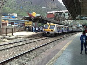 Mumbra railway station - Mumbra railway station - Overview