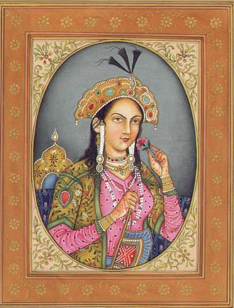 Mumtaz Mahal - An artistic depiction of Mumtaz Mahal