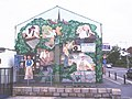 Mural on side wall of Ken Bamber butcher's shop, Higher Walton, Preston - geograph.org.uk - 864668.jpg