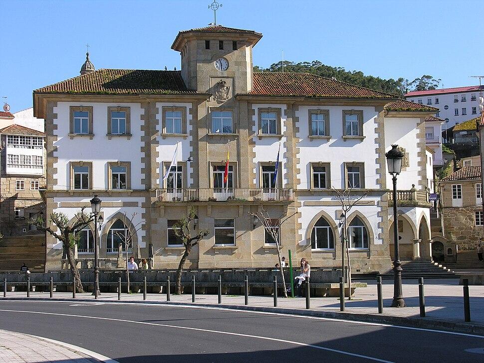 Muros.Galiza.04-2008 casa do concello