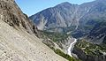 Murtaza Abad Hunza, From West In view Hunza River, KKH and front View of HAKUCHAR NAGAR.jpg
