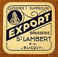 Musée Européen de la Bière, Beer coaster pic-059.JPG